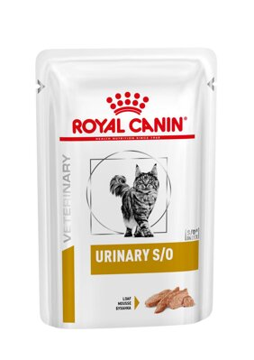 Veterinary Health Nutrition Cat Urinary S/O Pouch in Loaf