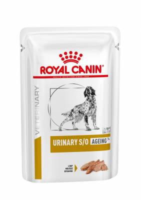 Veterinary Health Nutrition Dog Urinary S/O Age Pouch Loaf