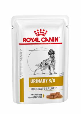 Veterinary Health Nutrition Dog Urinary S/O Moderate Calorie Pouch